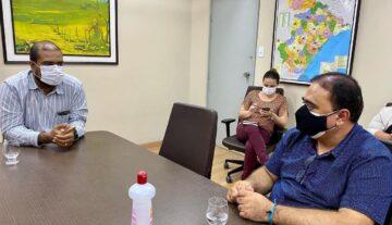 Prefeito de Simão dias se reúne com reitor da Universidade Federal de Sergipe