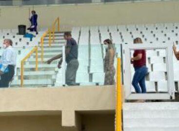 Arena Batistão receberá investimentos de requalificação e modernização