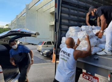 CPTran e Instituto Nordeste Cidadania arrecadam 22 toneladas de alimentos para famílias