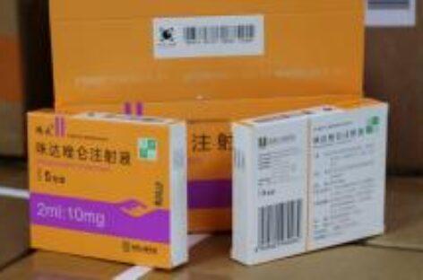Estado de Sergipe recebe do MS medicamentos do kit intubação