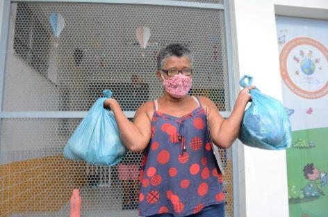 Prefeitura de Socorro inicia a distribuição dos kits de alimentação escolar