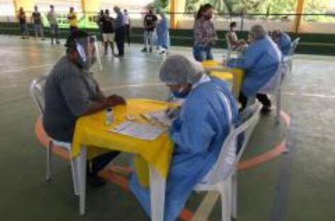 Saúde leva testes rápidos da Covid-19 para o município de Barra dos Coqueiros