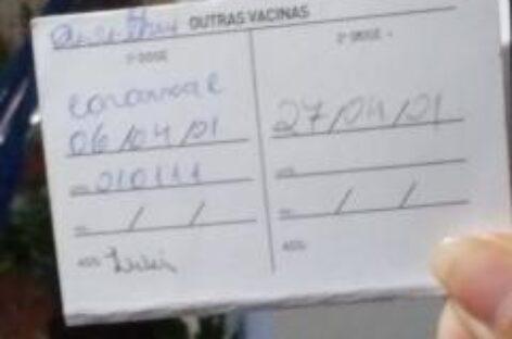 Iran e Professora Ângela ingressam com ACP para garantir 2ª dose da Coronavac
