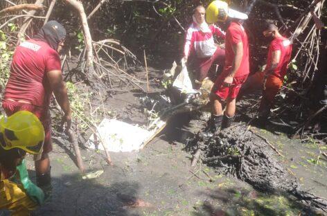 SSP confirma morte do piloto do avião que caiu no mangue em Aracaju