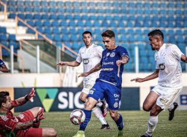 Série B: Cruzeiro tem dois expulsos e perde para o Confiança na estreia