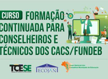 Escola de Contas abre inscrições para curso voltado a conselheiros e técnicos dos Cacs/Fundeb