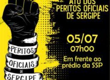 Peritos Oficiais realizam manifestação em frente à SSP na próxima segunda-feira