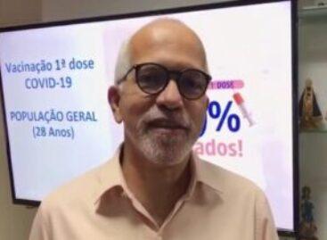 Aracaju vacinará contra Covid-19, população de 28 anos com a primeira dose. Veja onde se vacinar