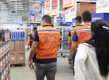 Covid-19: Prefeitura foca nos supermercados em mais um final de semana de fiscalizações