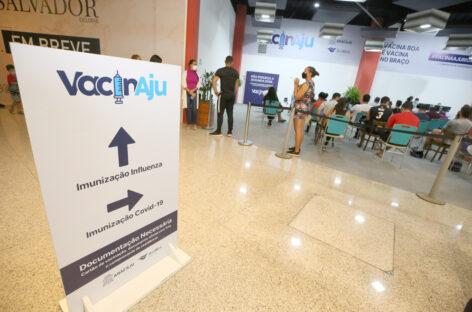 Há dois dias sem óbito por covid, Aracaju segue avançando na imunização por faixa etária