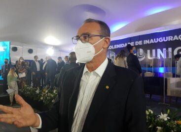 """Zezinho: """"Inauguração da Unigel é a consagração de um trabalho de vários anos"""""""