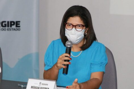 """Secretária de Saúde anuncia em coletiva de imprensa, Dia """"D"""" de vacinação contra a Covid-19 em Sergipe"""