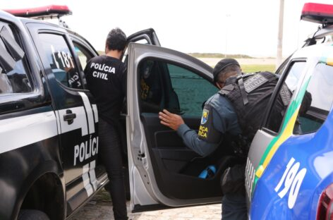 Ação conjunta prende suspeitos de tráfico de drogas em Capela