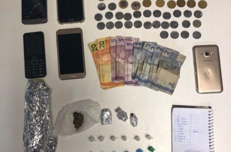 """Polícia prende em flagrante o """"Pão de Sal"""" por tráfico de drogas em Itabaiana"""