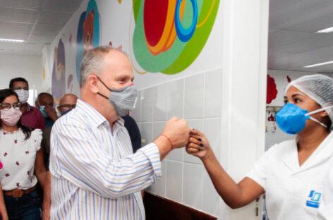 Belivaldo diz que Hospital da Criança deverá ser entregue à população em outubro