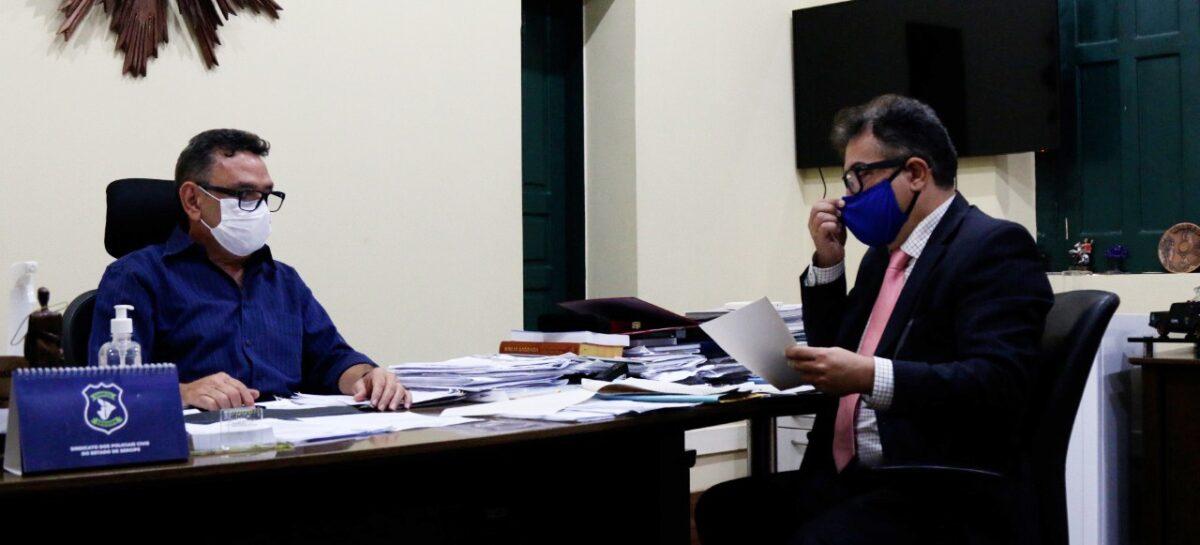 MP requisita à SSP investigação contra torcedores do Confiança
